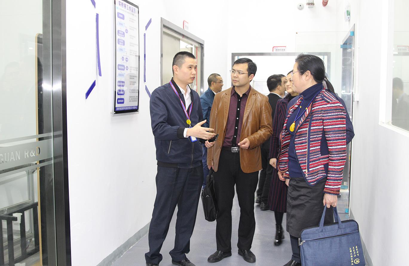 ope体育官网视界热情接待永州市招商考察团